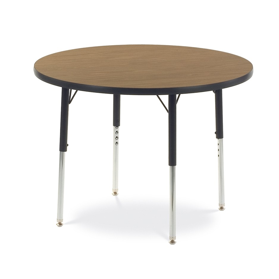 basic brown table for schools or classrooms