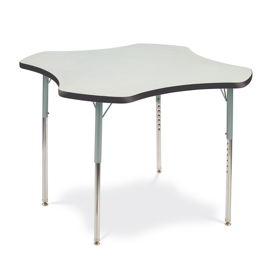 clover shaped table for schools or office