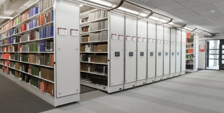 Mobile shelving - University