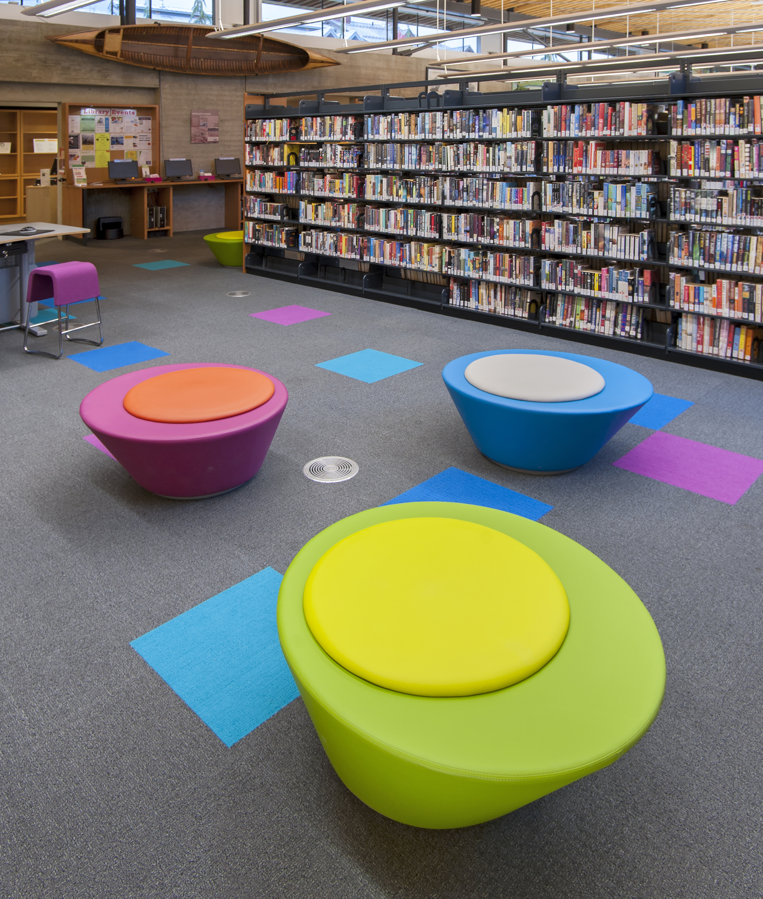library soft seating
