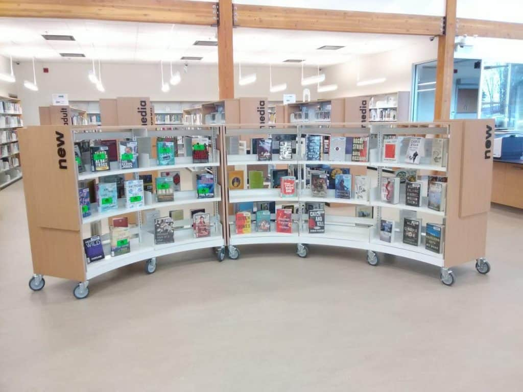 library shelving canada