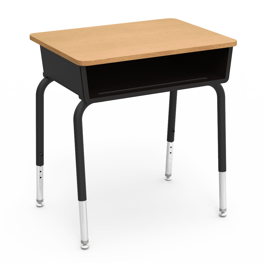 Virco 785 series junior student desk w laminate top for Used school furniture outlet