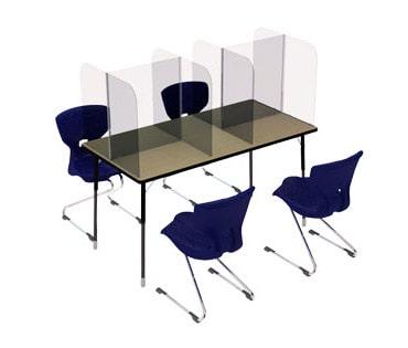plexiglass screens desk